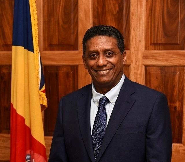 Seychelles's president, Danny Faure