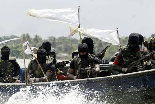 Nigerian pirates - photo credit: Washington Post