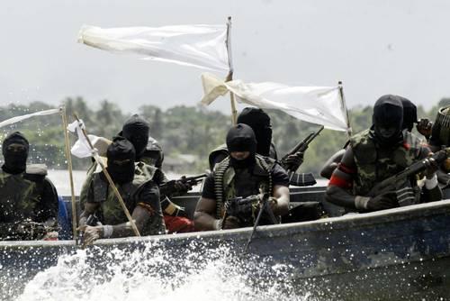 Nigerian pirates - photo credit: Washington Post