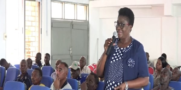 Ghana: Marketing and Public Affairs Manager of Tema Fishing Harbour, Joana Adda