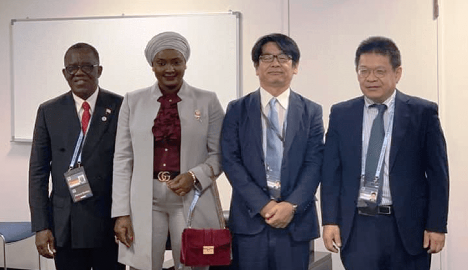 Liberia : nafaa japan