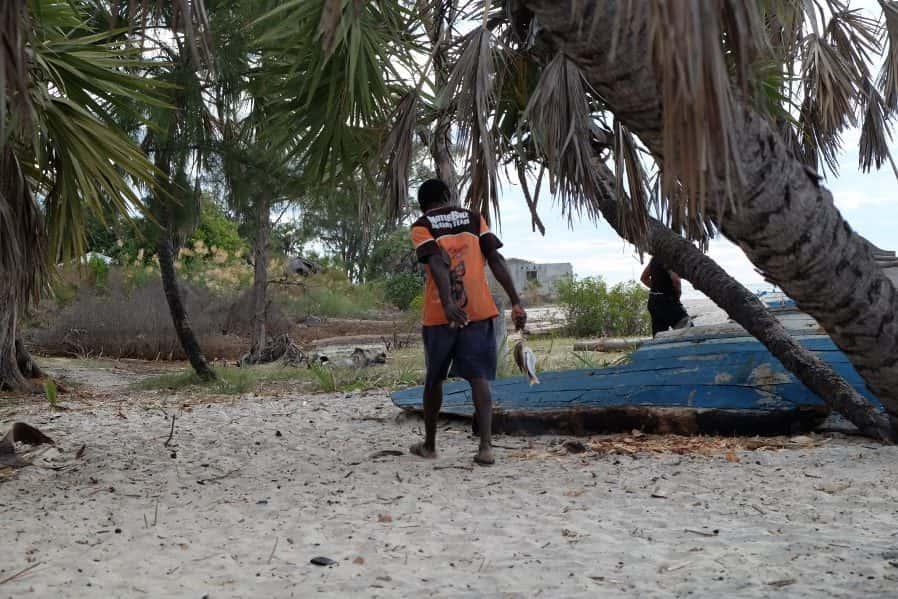 Madagascar traditional fishermen
