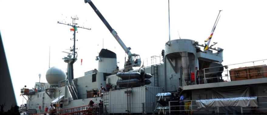 Défense, formation et solidarité : Le Bénin reçoit le navire belge Godetia