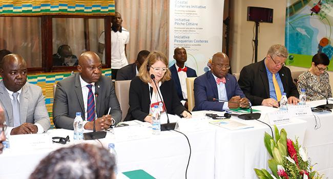 Mercredi 06 Novembre 2019 / Ouverture de la convention régionale pour la revalorisation des pêches côtières à Abidjan