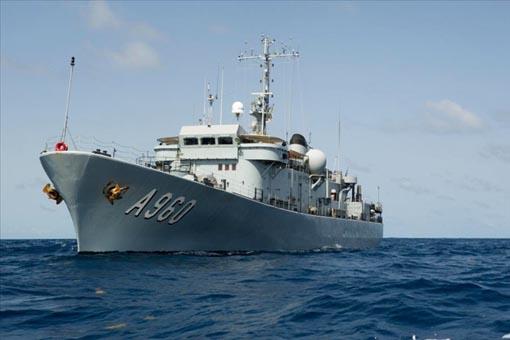 Navire Belge A960 Godetia