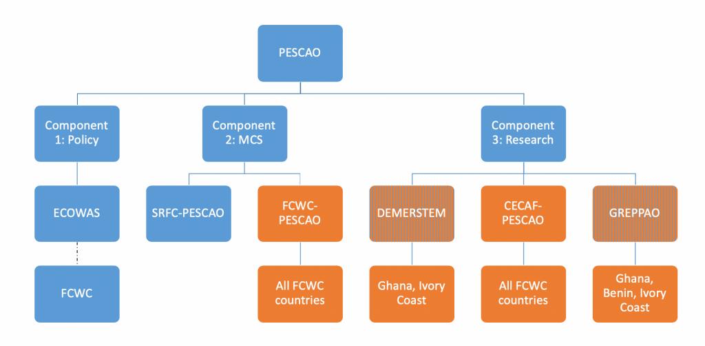 Global PESCAO Organogramme