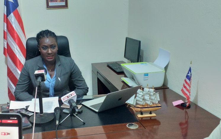 Liberia - Emma Glasco - Director-General of the National Fisheries and Aquaculture Authority (NaFAA)