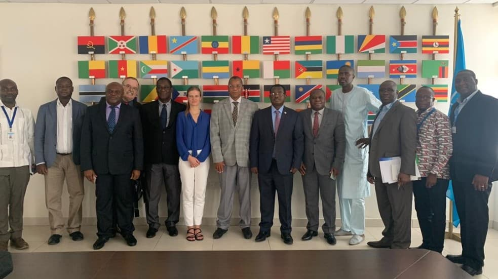 Ghana: Group photo of ECOWAS visit to FCWC