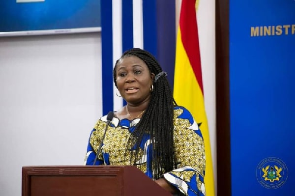 Ghana - Elizabeth Afoley Quaye, Minister of Fisheries and Aquaculture Development