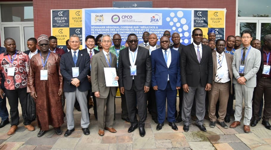 Benin, Group photo of FCWC-JICA Seminars