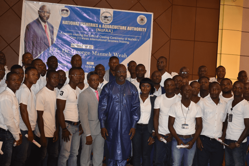 Liberia Nafaa To Deploy First Set Of Trained And Certified Seafarers On International Fishing Fleets Fisheries Committee For The West Central Gulf Of Guinea