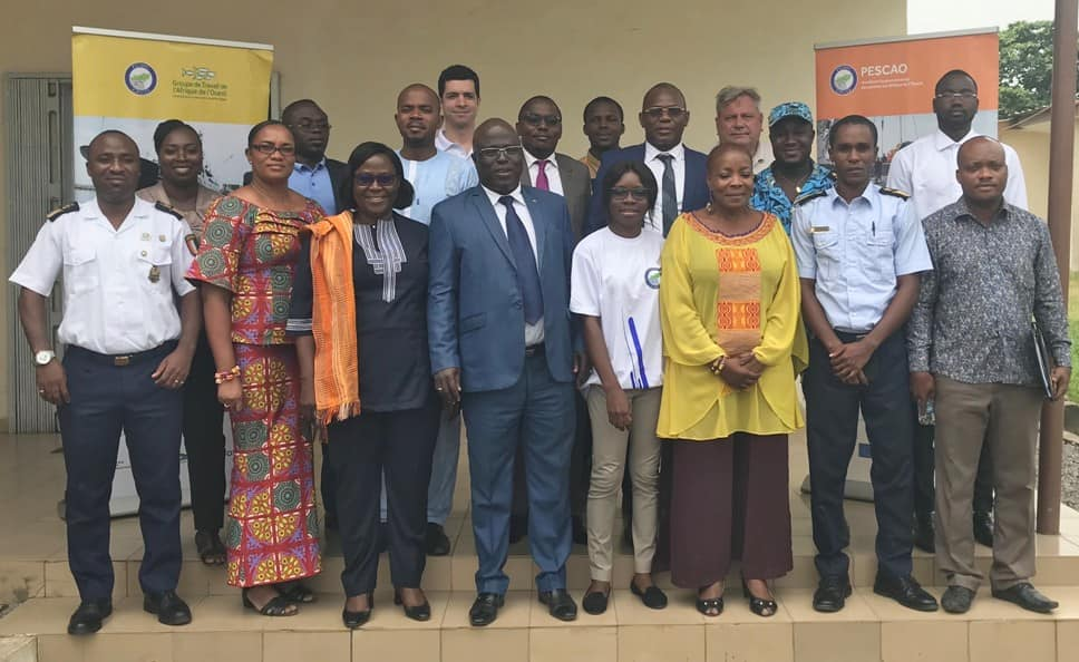 Group photo - Cote D'Ivoire Prepares for Reefer Control and PSMA Implementation