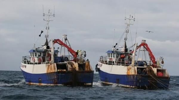 Ghana - pair trawlers