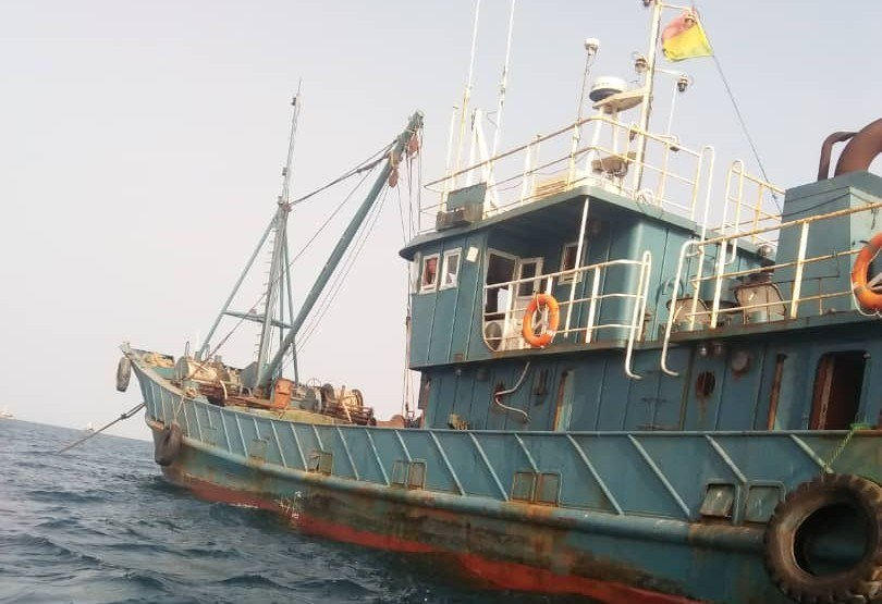 EJF Ghana - New-Chinese-Trawler