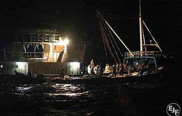 EJF - Ghana Chinese trawler
