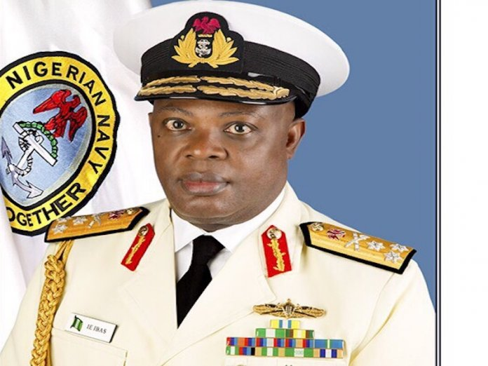 Rear Admiral Ibok-Ete Ekwe Ibas - Chief of Naval Staff PHOTO; SUNDAY AGHAEZE OFFICE OF THE PRESIDENT (PMB) JULY 13 2015