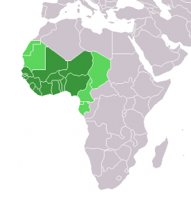West Africa Map