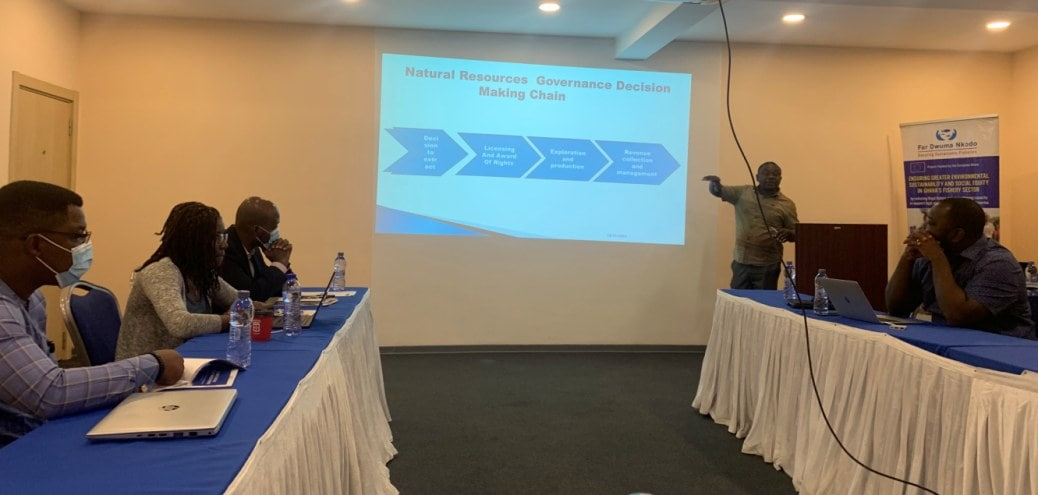 FCWC Participates in Transparency in Ghana Fisheries Sector Meeting