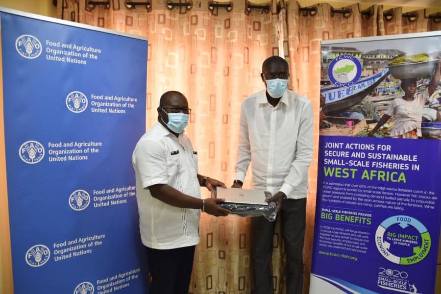 FCWC received equipment from FAO