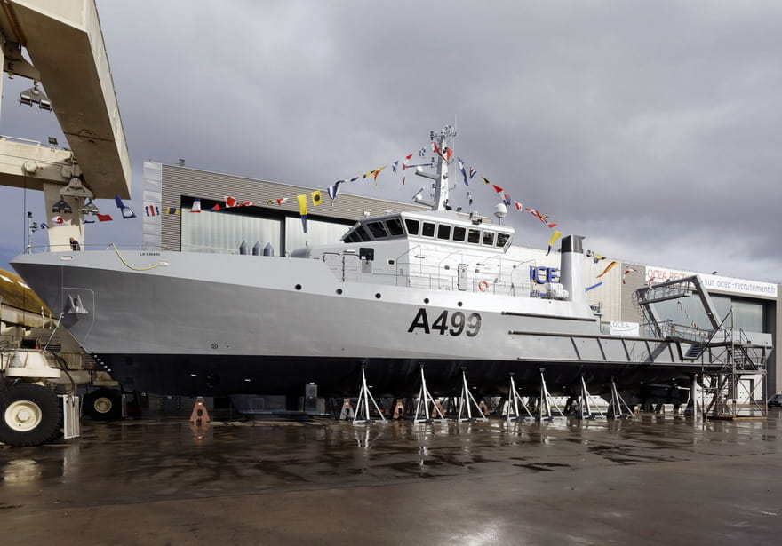The Nigerian Navy's new hydrographic survey vessel NNS Lana.